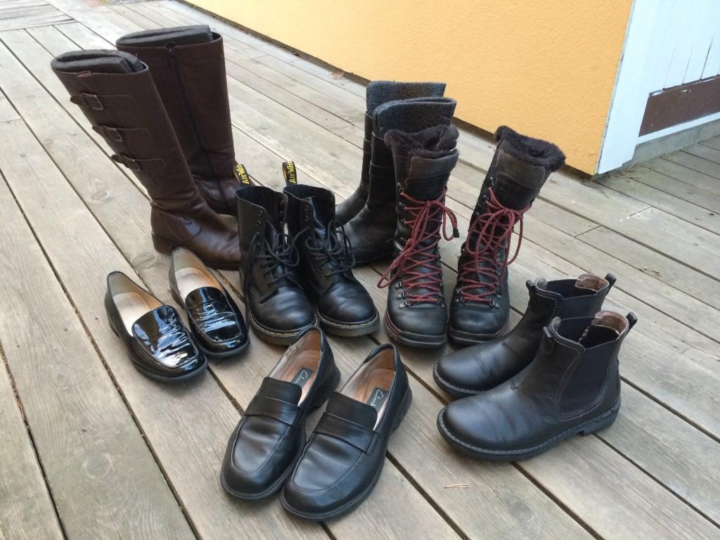 Nyputsade skor!