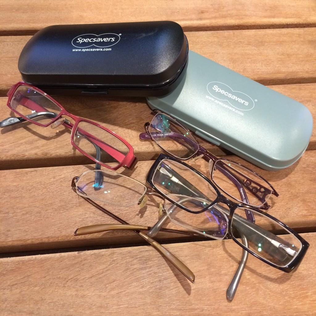 Mina gamla glasögon!