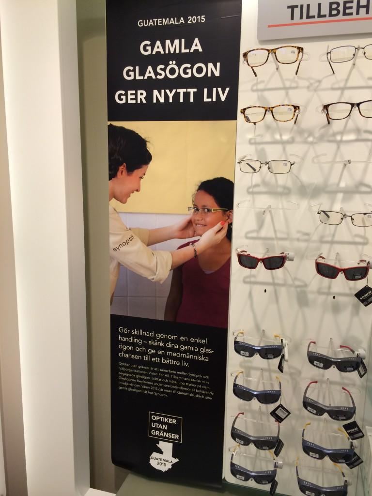 Dina gamla glasögon kommer till nytta!