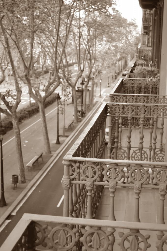 Utsikt från vår balkong!