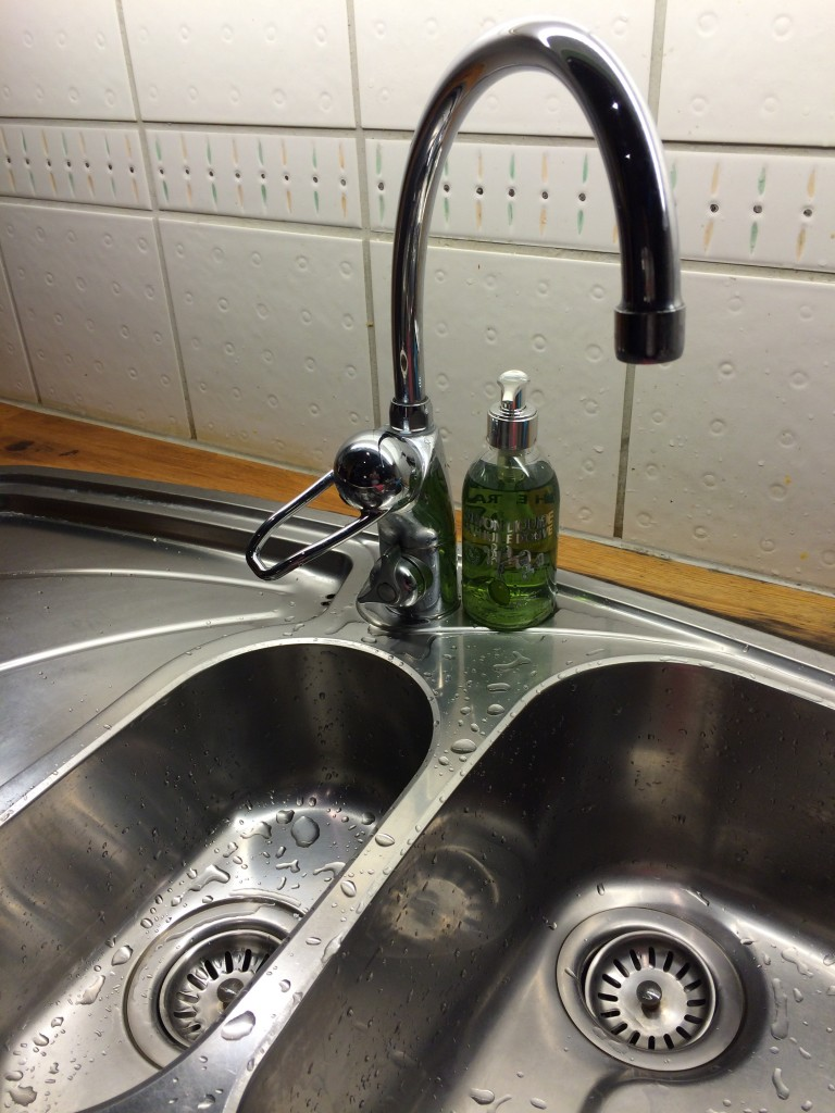 Fint i vasken!