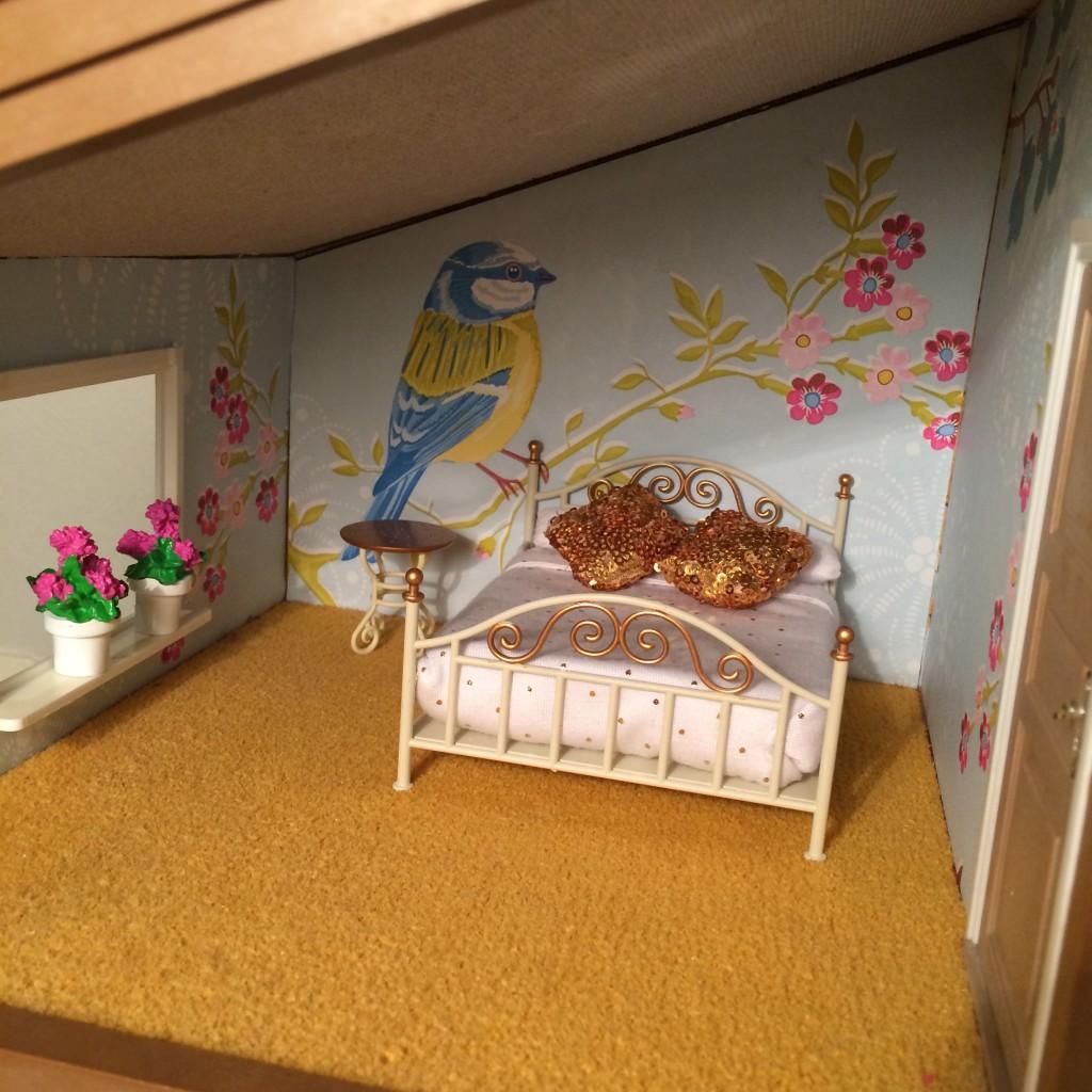 Första rummet klart att flytta in i :-)