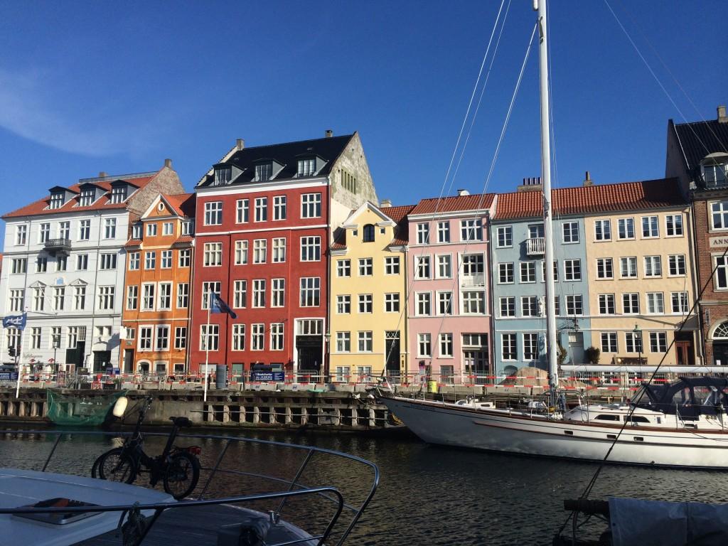 Söta hus i Nyhavn!