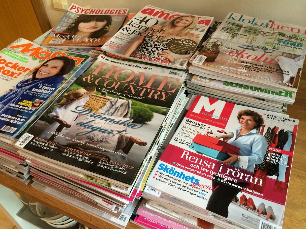 Ops, det blev många tidningar :-)