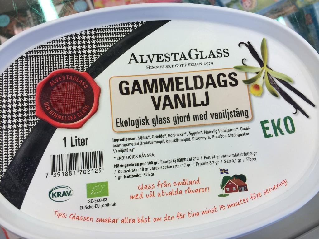Vilken glass? Den ekologiska för 39 kr eller Big Pack för 9 kr? Kanske det är 2 liter i en Big Pack till och med?