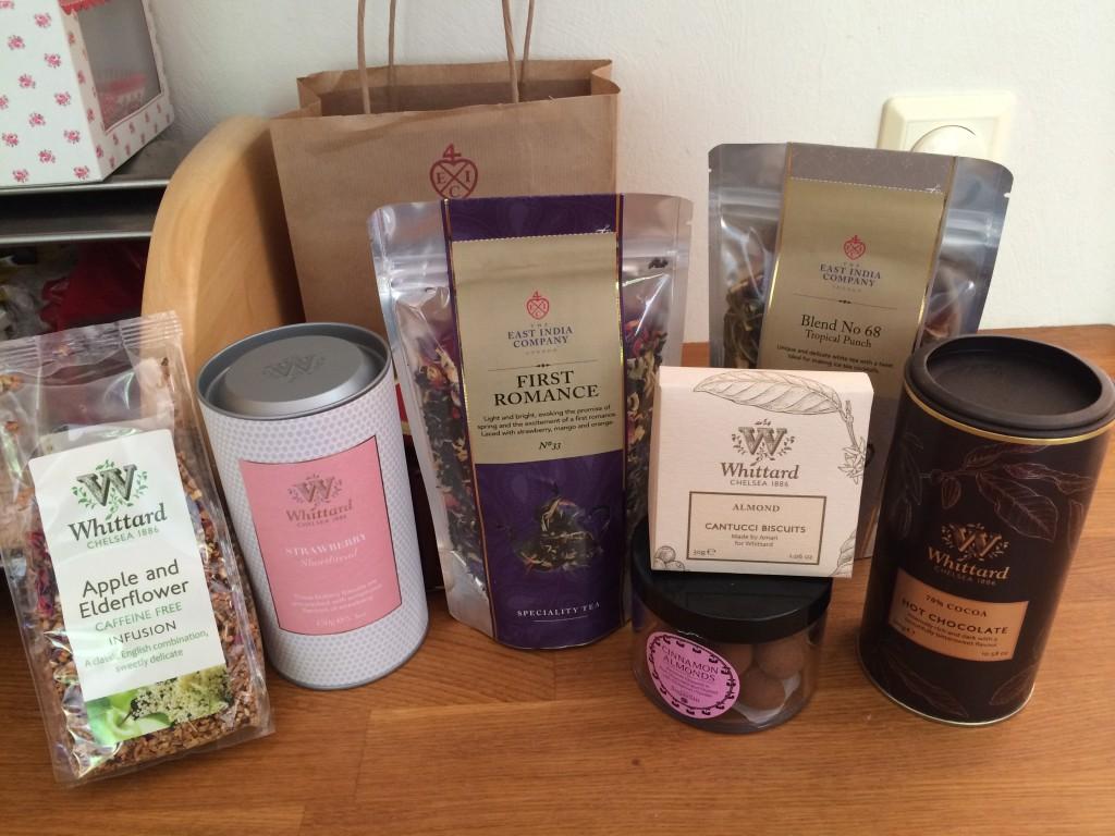 """Jag älskar de små mysiga te-affäerna i London! (Och det är """"saker"""" som förbrukas!)"""