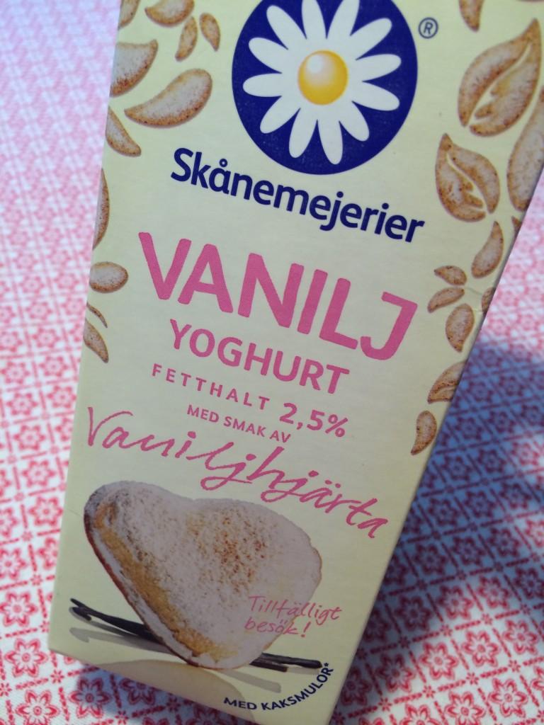 Smak av vaniljhjärta! Men skynda att köpa - smaken är bara på tillfälligt besök!!