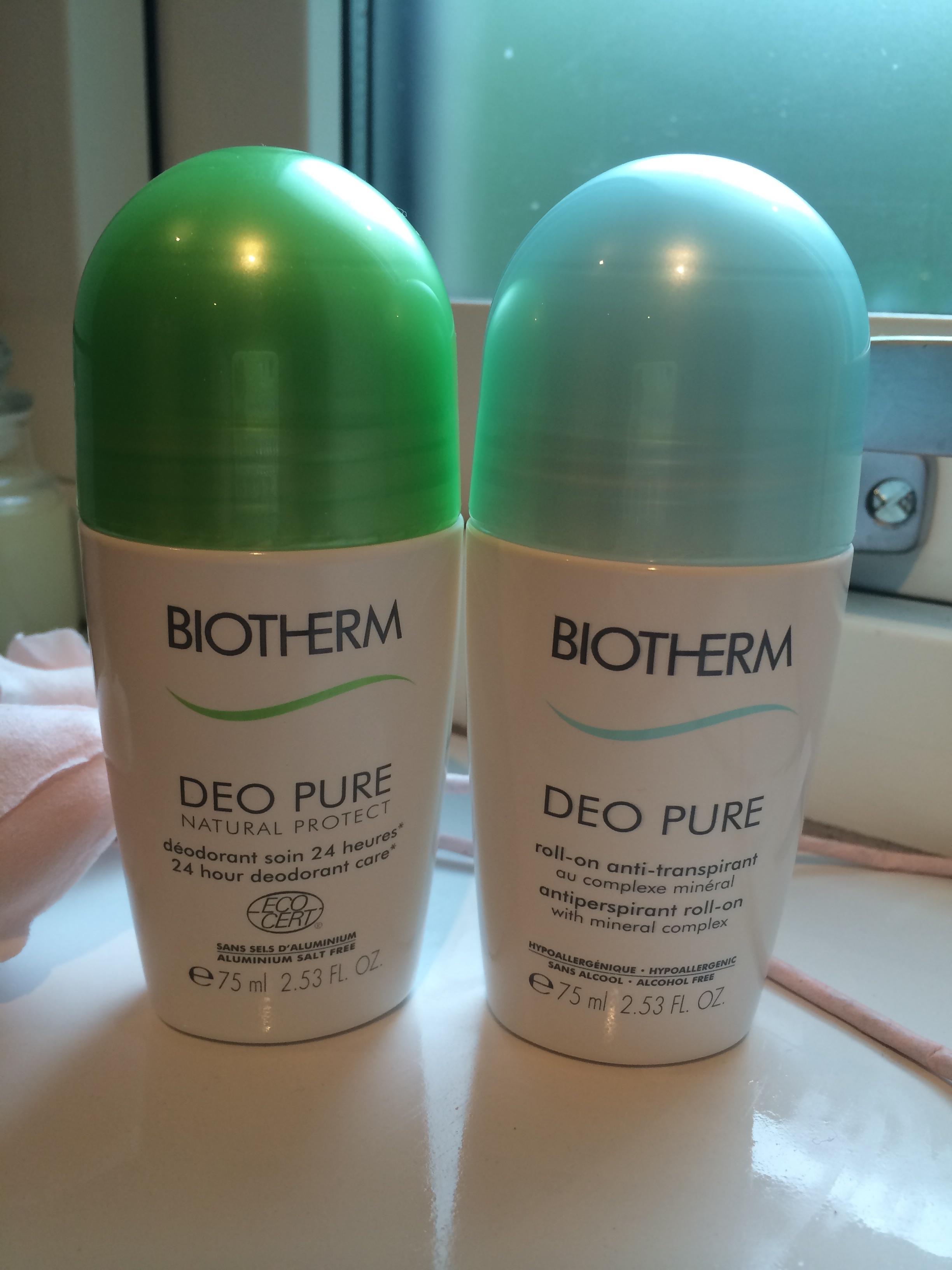 deodorant utan parfym