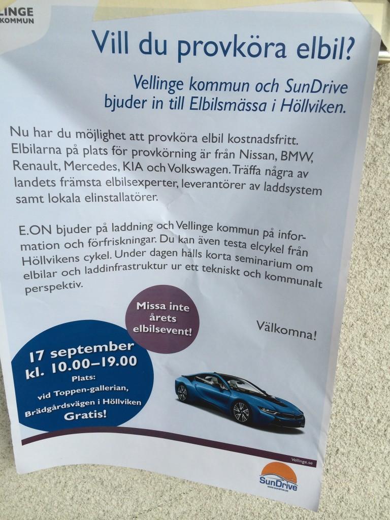 Elbilsmässa i Höllviken!