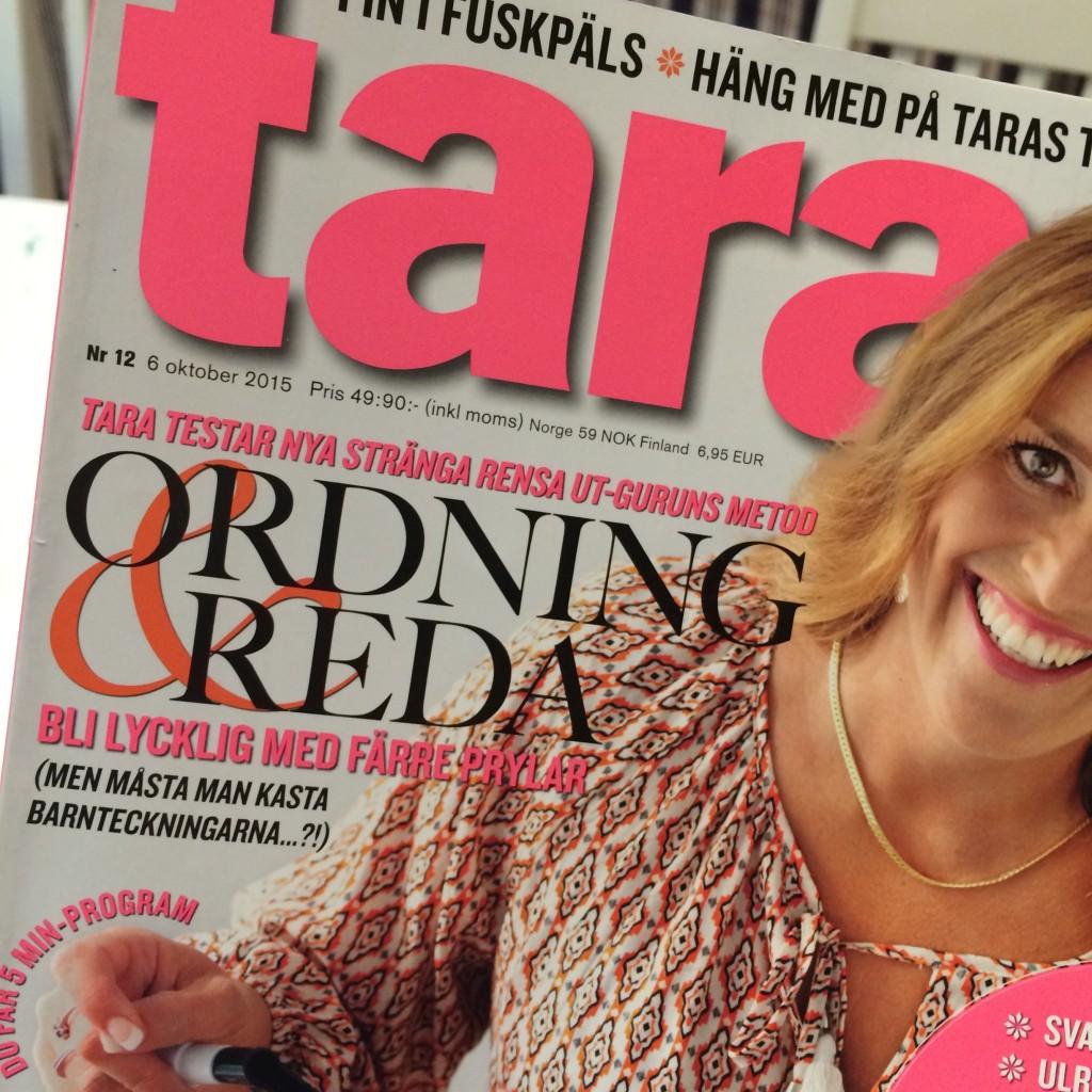 Ordning & Reda i Tara nr 12!