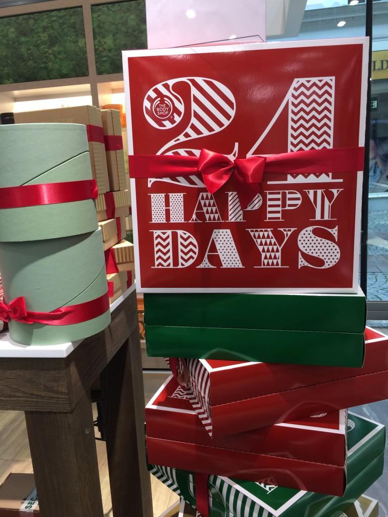 Årets Julkalender från Body Shop!