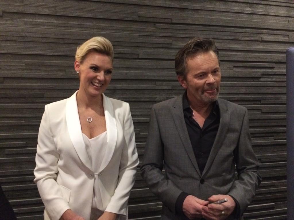 Sanna & Anders efter konserten!