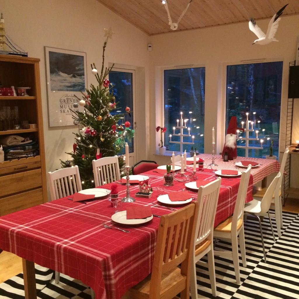 Snart kommer julgästerna!
