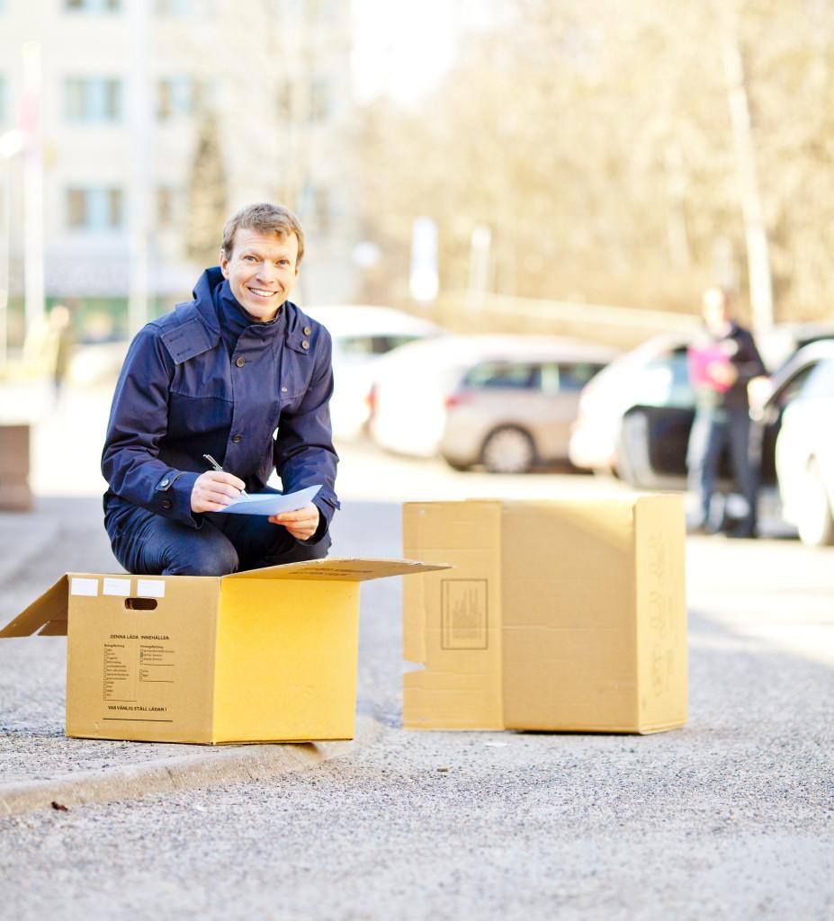 Igång med flytt - Mattias Ejbe på Moveria!
