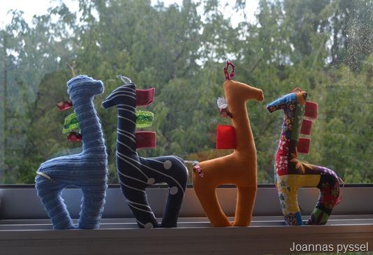 Joannas söta giraffer! (Bild lånad från Joannas värld!)