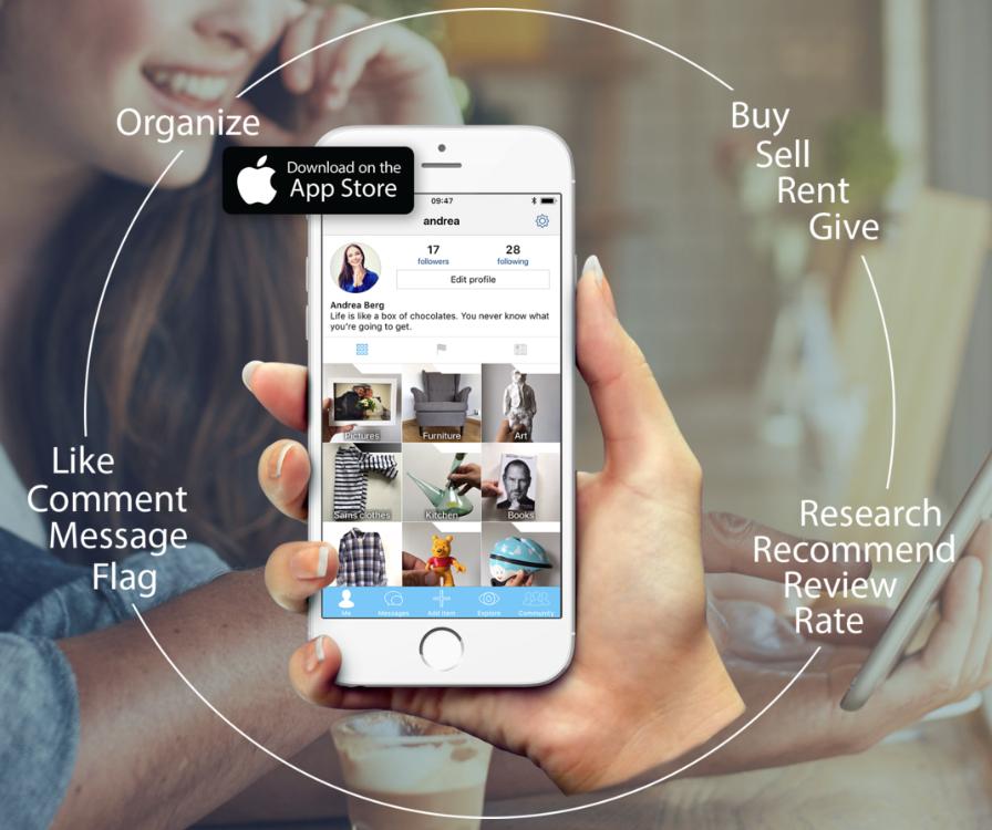 sälja saker app